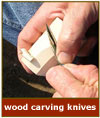 wood carving knives image