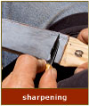 sharpening wood carving tools image
